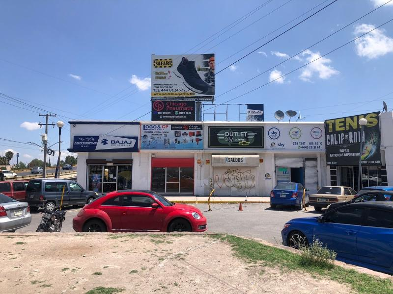 Renta de Local  en San Luis Potosi en PRADOS GLORIETA