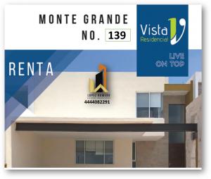 Renta de Casa en  San Luis Potosi en LA VISTA RESIDENCIAL