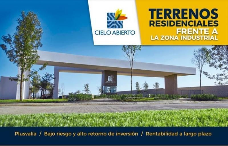 Venta de Terreno  en San Luis Potosi en CIELO ABIERTO