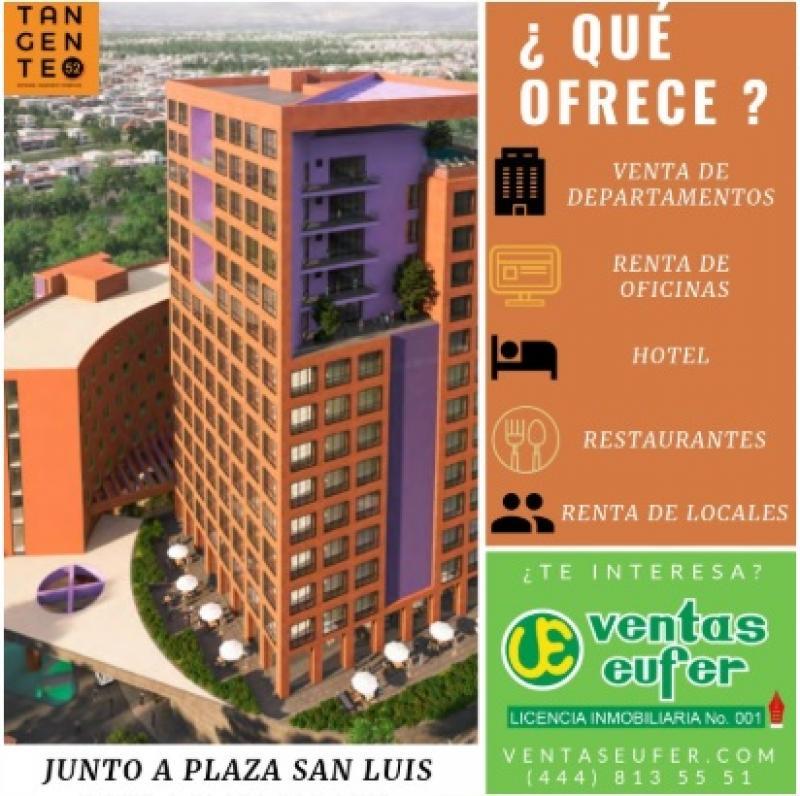 Renta de Oficina  en San Luis Potosi en LOMAS DEL TEC