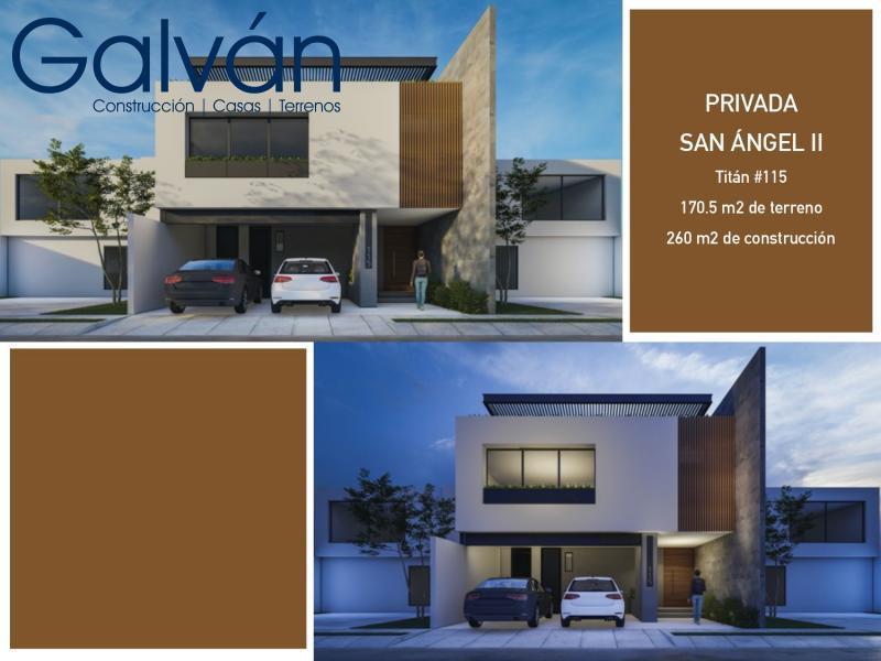 Venta de Casa  en San Luis Potosi en PRIVADAS SAN ANGEL