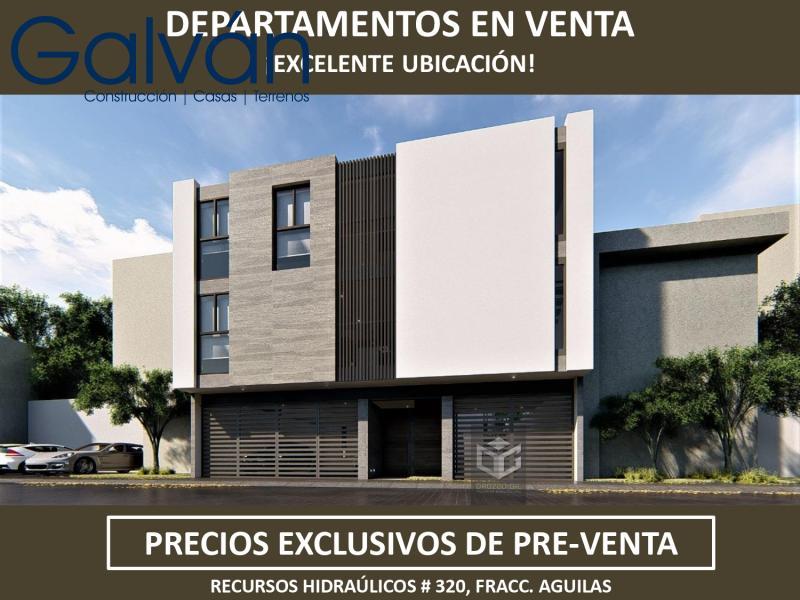 Venta de Departamento  en San Luis Potosi en LAS AGUILAS