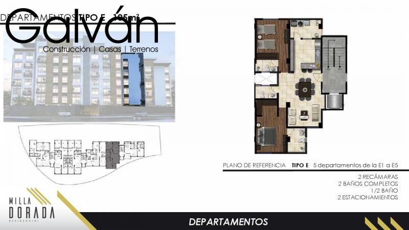 Venta de Departamento  en San Luis Potosi en FRACCIONAMIENTO CAMPO AZUL
