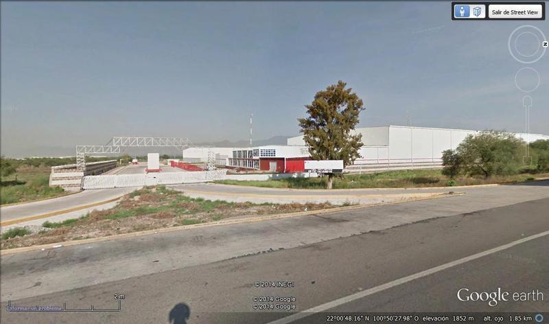 Renta de Bodega  en San Luis Potosi en CARRETERA MEXICO