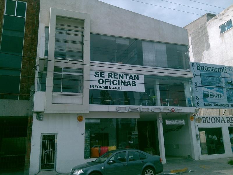 Renta de Oficina  en San Luis Potosi en TANGAMANGA