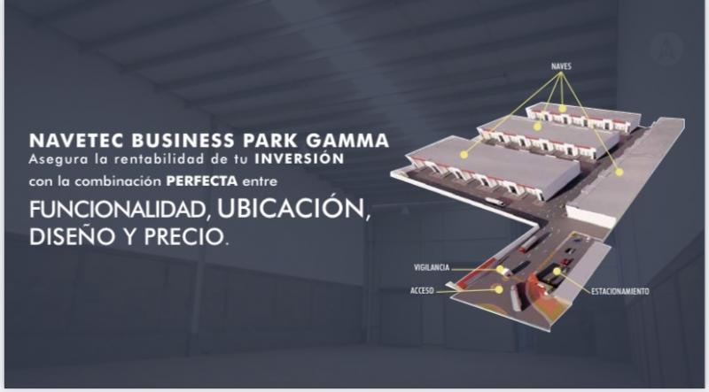 Venta de Bodega  en  en BUSINESS PARK CELAYA QUERETARO