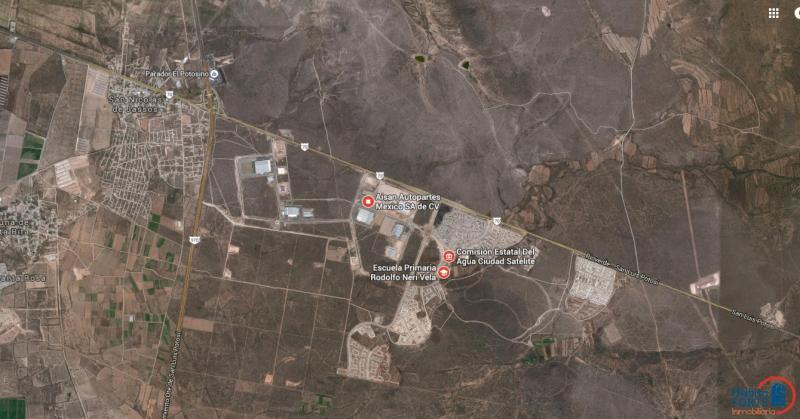 Venta De Terreno En San Luis Potosi En Ciudad Satelite Habitaforte