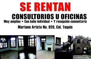 Renta de Consultorio en TEQUISQUIAPAN