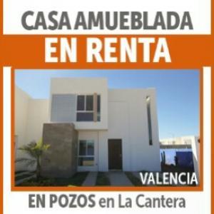 Renta de Amueblado en LA CANTERA