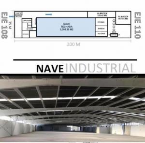 Renta de Nave Industrial en ZONA INDUSTRIAL