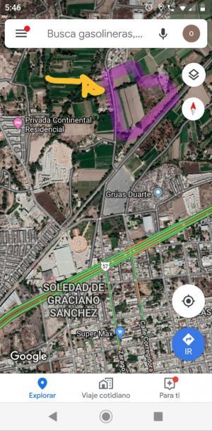 Venta de Terreno en SOLEDAD DE GRACIANO SANCHEZ