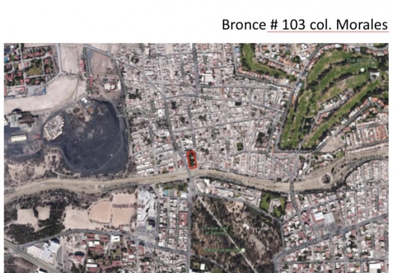 Venta de Terreno  en San Luis Potosi en MORALES